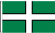 3ft x 2ft Fabric Devon County Flag of Devon Flags for Sale - West Country Seller
